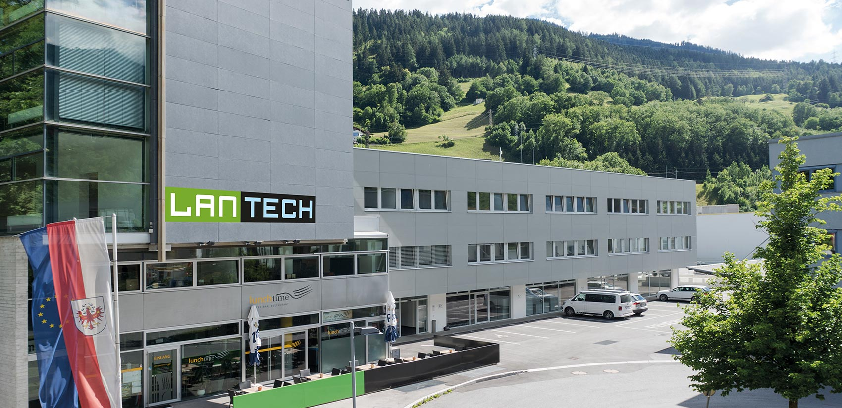 Das Innovationszentrum Lantech in Landeck